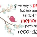 Recordar un amor
