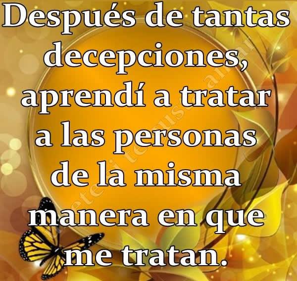 decepciones