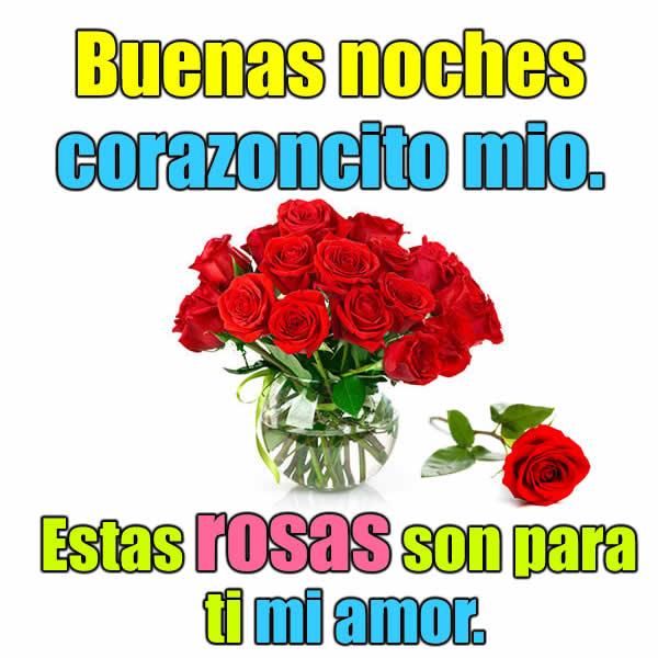 Rosas de amor con frases