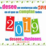 Frases bonitas: Venturoso año nuevo 2019
