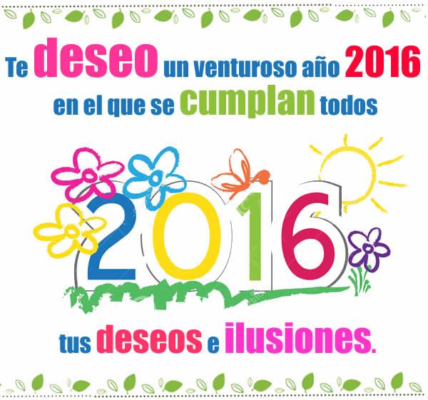 Venturoso año nuevo 2016