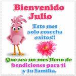 Imagenes con letras de Julio
