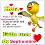 Fotos de septiembre con mensajes