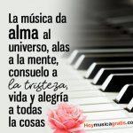 La musica es vida y alegria
