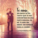 Frases: Te amo de inicio a fin