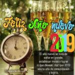 Frases con Fotos de Feliz año nuevo 2019