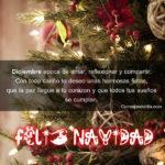 Frases: Feliz Navidad y venturoso año Nuevo