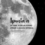 Frases con Imagenes: La luna es hermosa y bella