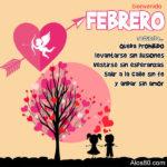 Imagenes con Frases lindas: Febrero mes del amor