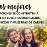 Imagenes con Frases bonitas: Las mejores relaciones