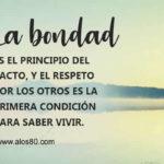 Frases con Imagenes lindas de Bondad y Amor