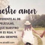Frases con Imagenes de Nuestro Amor