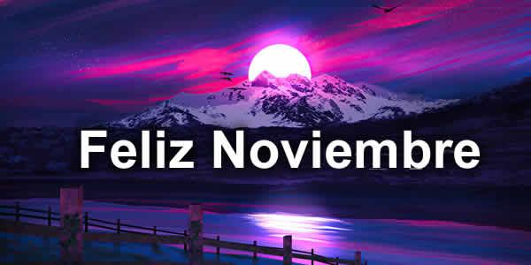 feliz noviembre