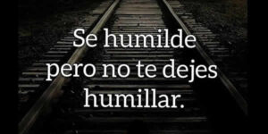 humilde frases