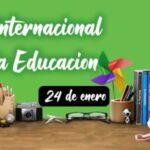 Feliz dia de la educacion 2021 con imagenes