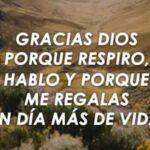 Imagenes lindas con frases cristianas: Gracias Dios