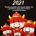Año del Buey 2021: Año nuevo chino