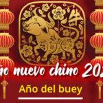 Feliz año nuevo chino 2021 - Año del Buey