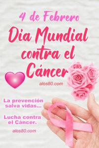 dia mundial contra la lucha del cancer