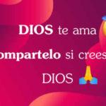 Dios te ama con frases y imagenes bonitas