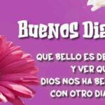 Saludos de Buenos dias con mensajes bonitos