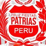 Felices Fiestas Patrias Peru 28 y 29 de Julio